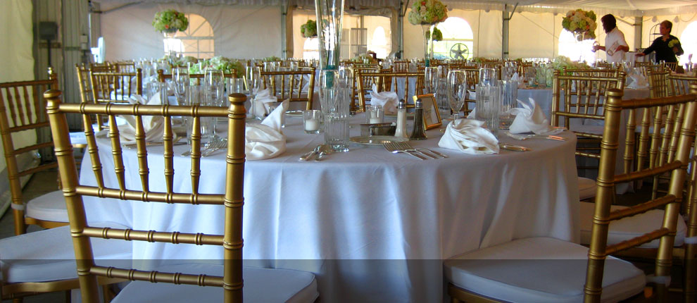 Gold Chiavari Chairs